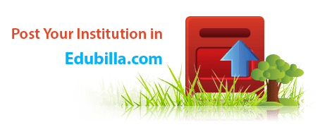 Post institution details in edubilla.com