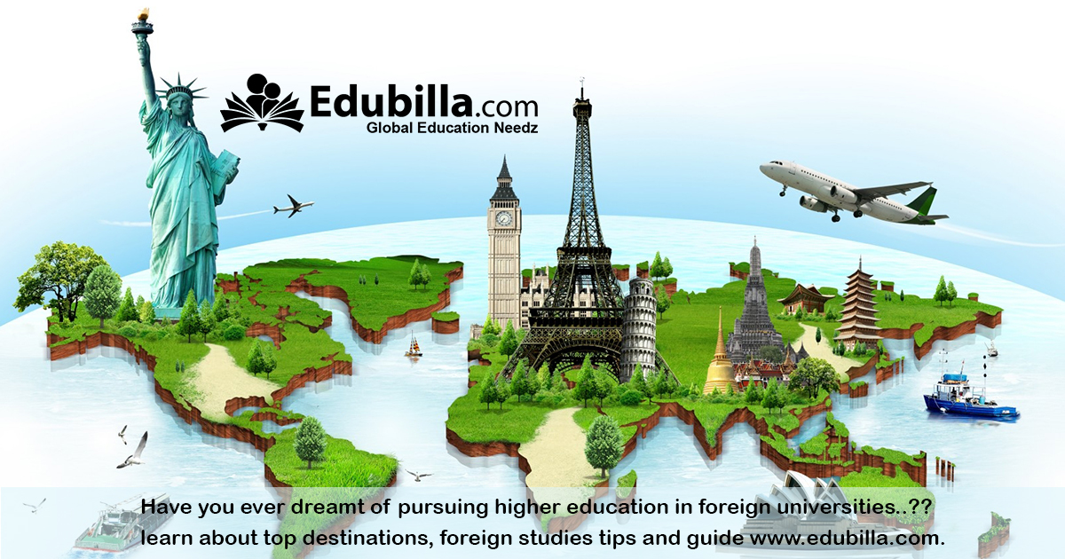 foreign study guide and tips for students in edubilla.com